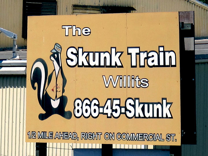 Willits Skunk Train