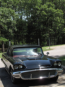 Driving a 1959 Thunderbird Across the USA